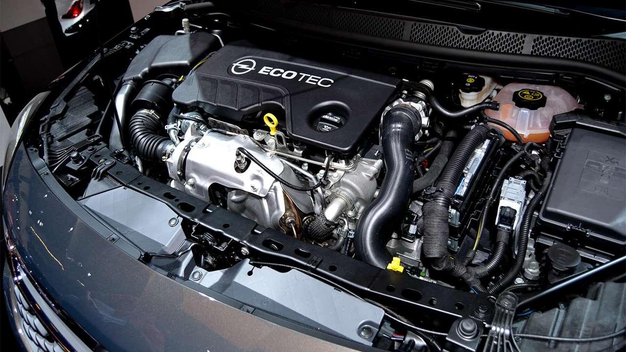 1,6-литровый мотор Астры