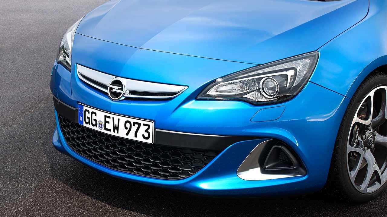 Морда Opel Astra OPC