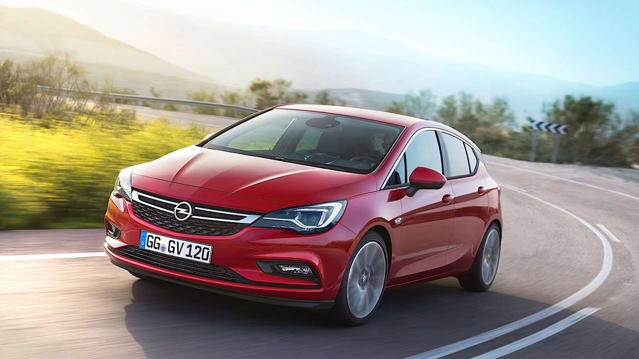Opel Astra K 2019-2020 фото спереди