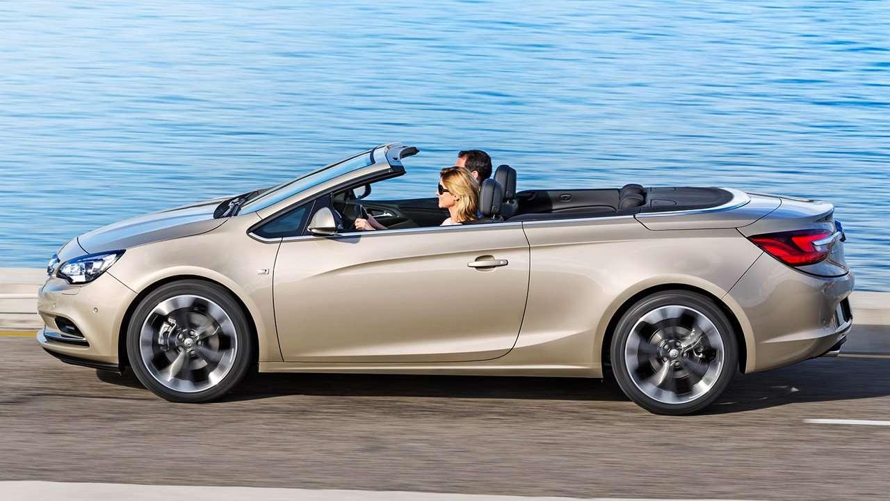 Боковая часть Opel Cascada