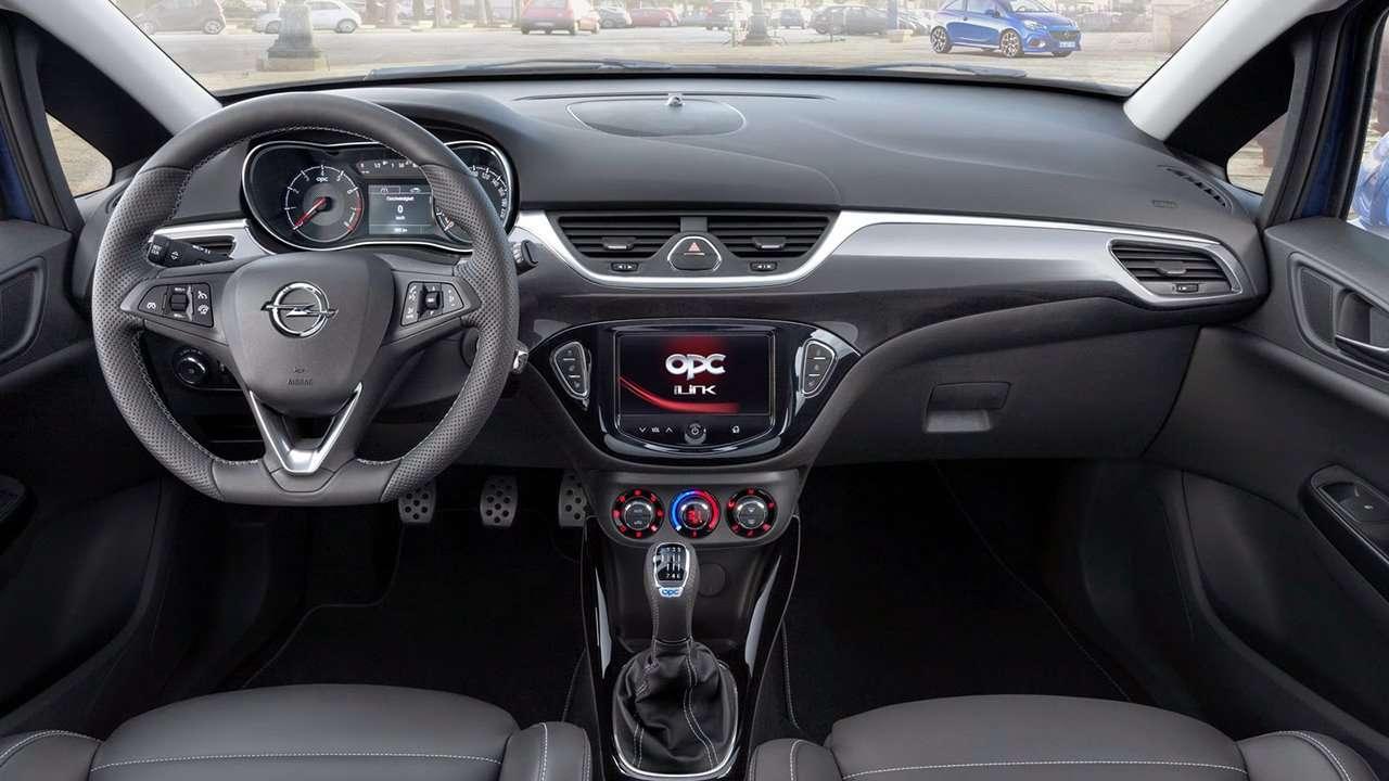 Opel Corsa OPC E 2015-2016 салон