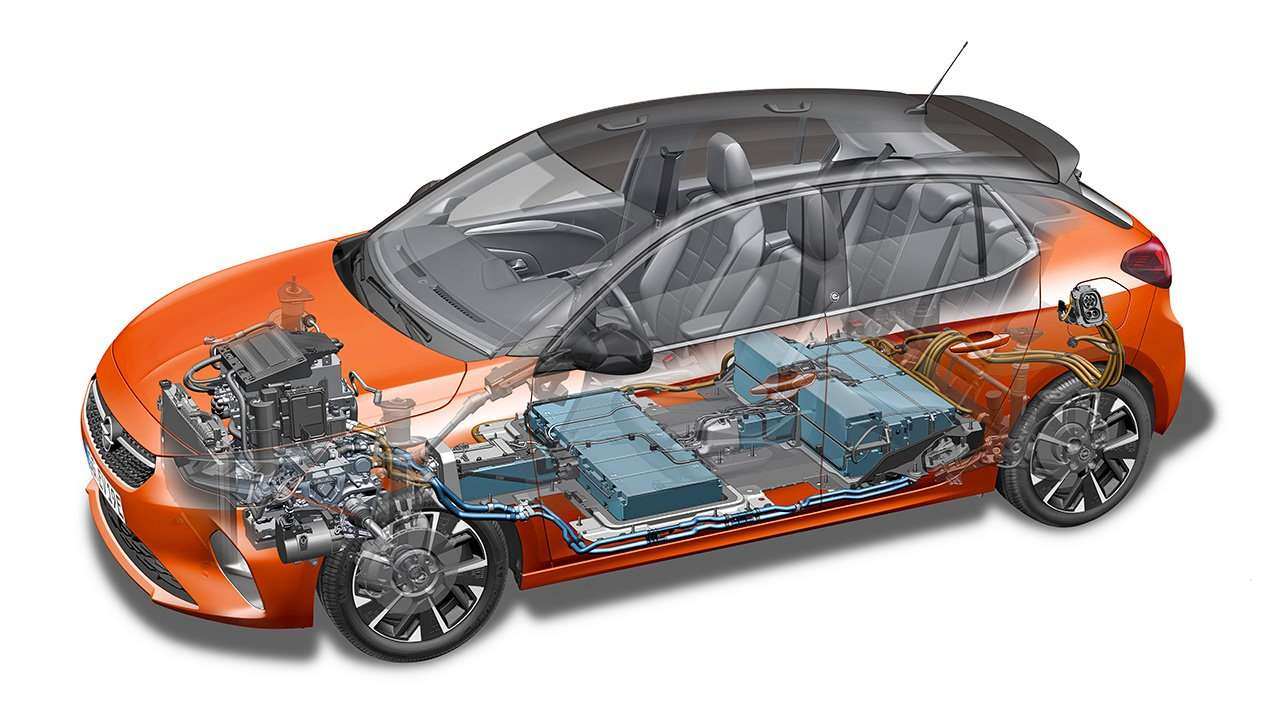 Электрический Opel Corsa-e F