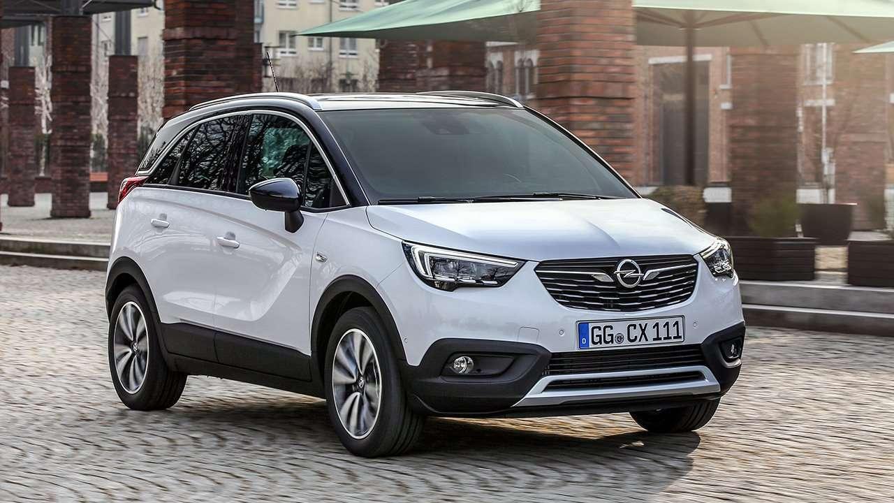 Opel Crossland X 2019-2020 фото спереди