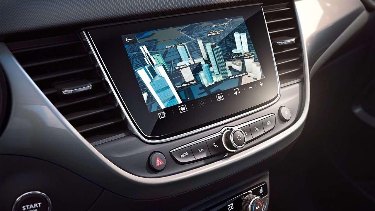 Дисплей мультимедиа Opel Crossland X 2019-2020