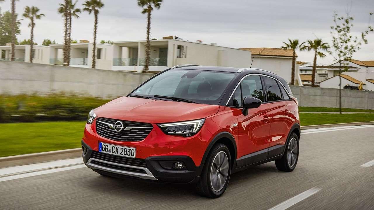 Фото Opel Crossland X 2019-2020 спереди
