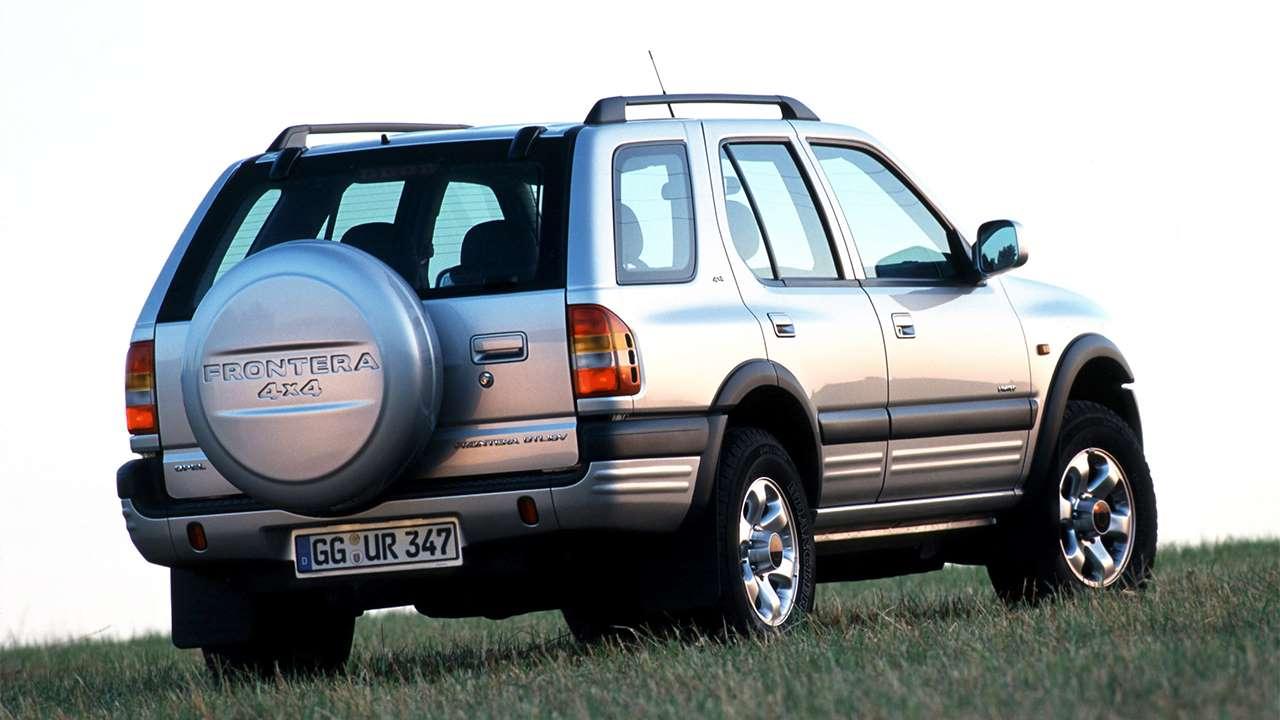 Задняя часть Opel Frontera B