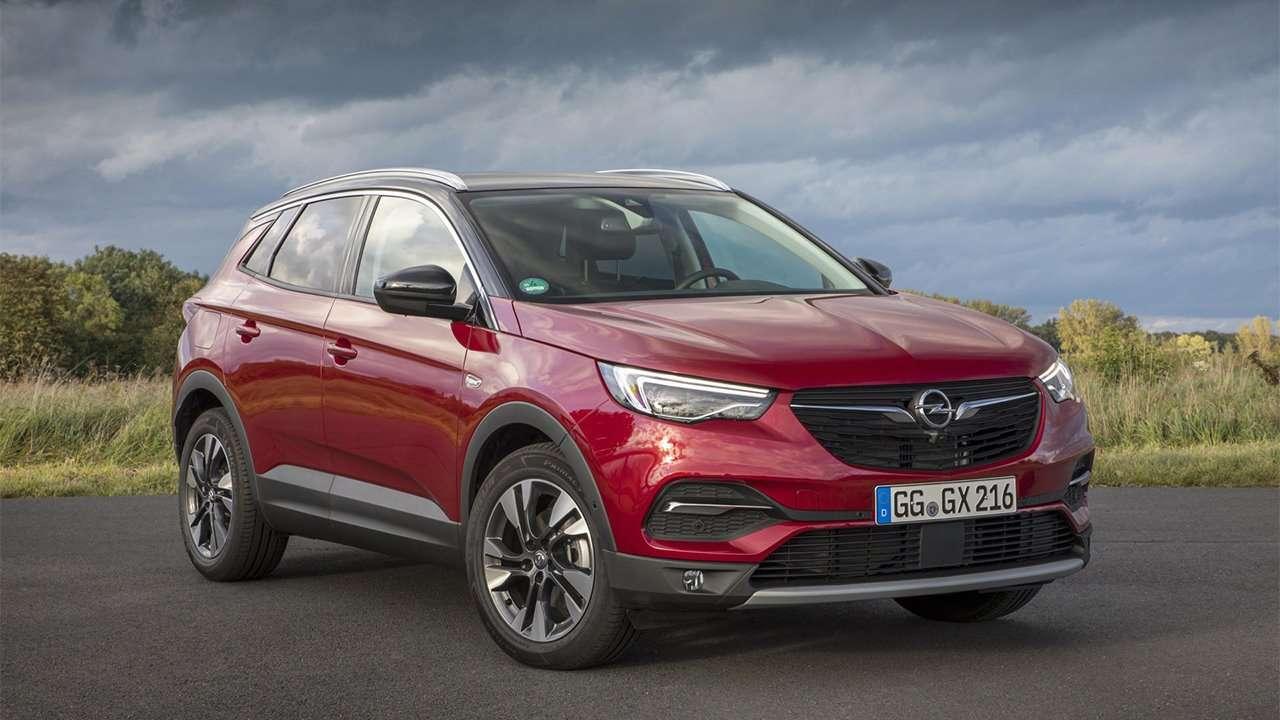 Opel Grandland X 2020-2021 фото спереди