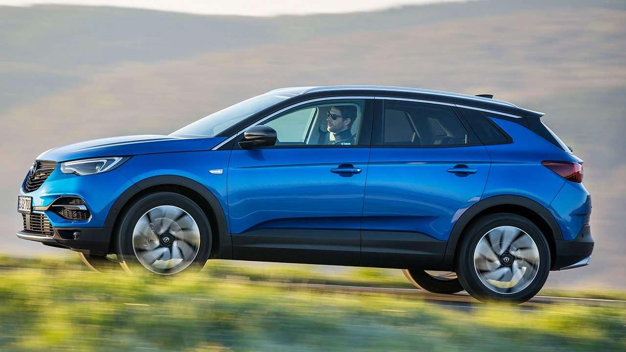 Боковина Opel Grandland X 2020-2021