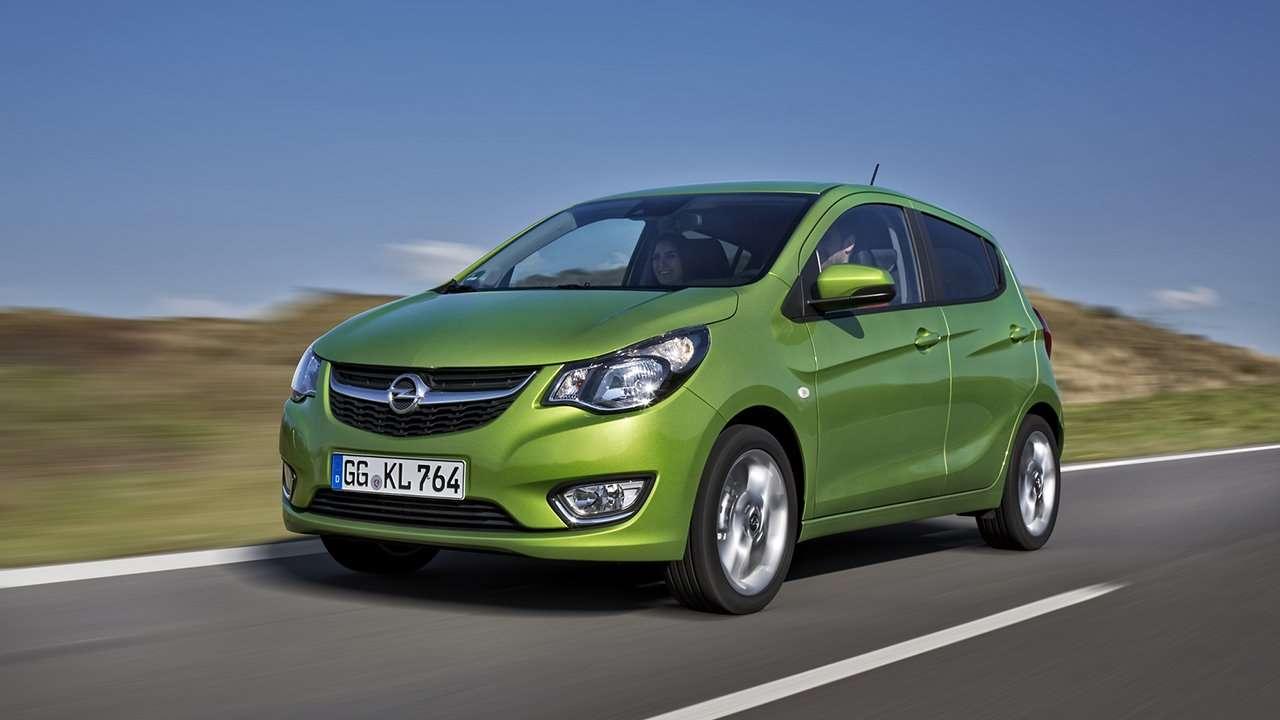 Opel Karl фото спереди