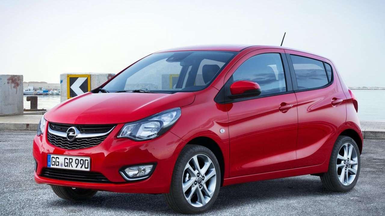 Opel Karl фото передней части