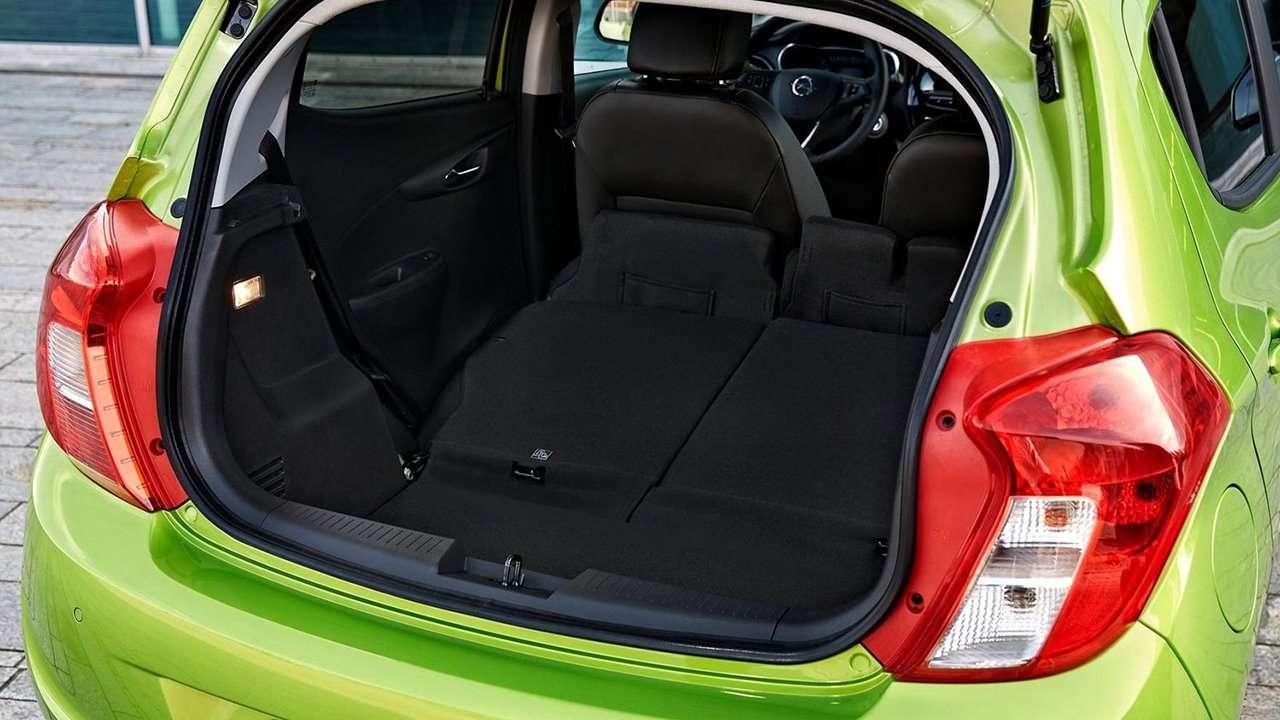 Opel Karl фото багажника