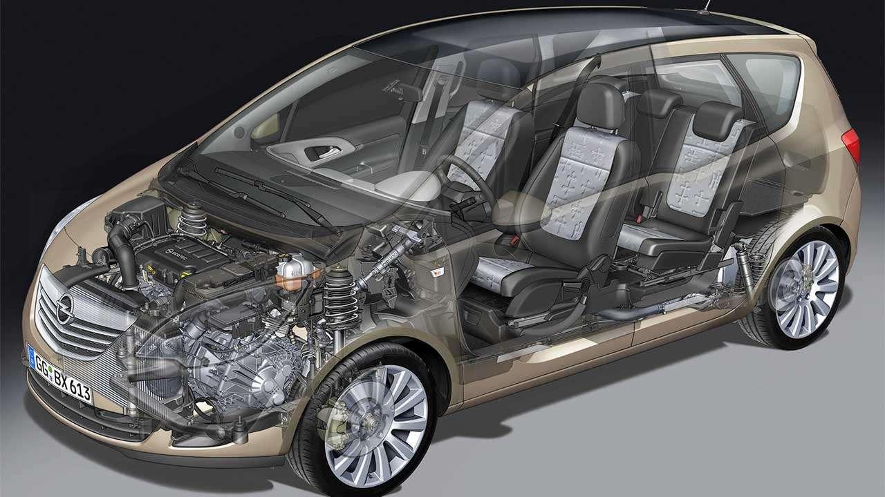 Подвеска Opel Meriva B