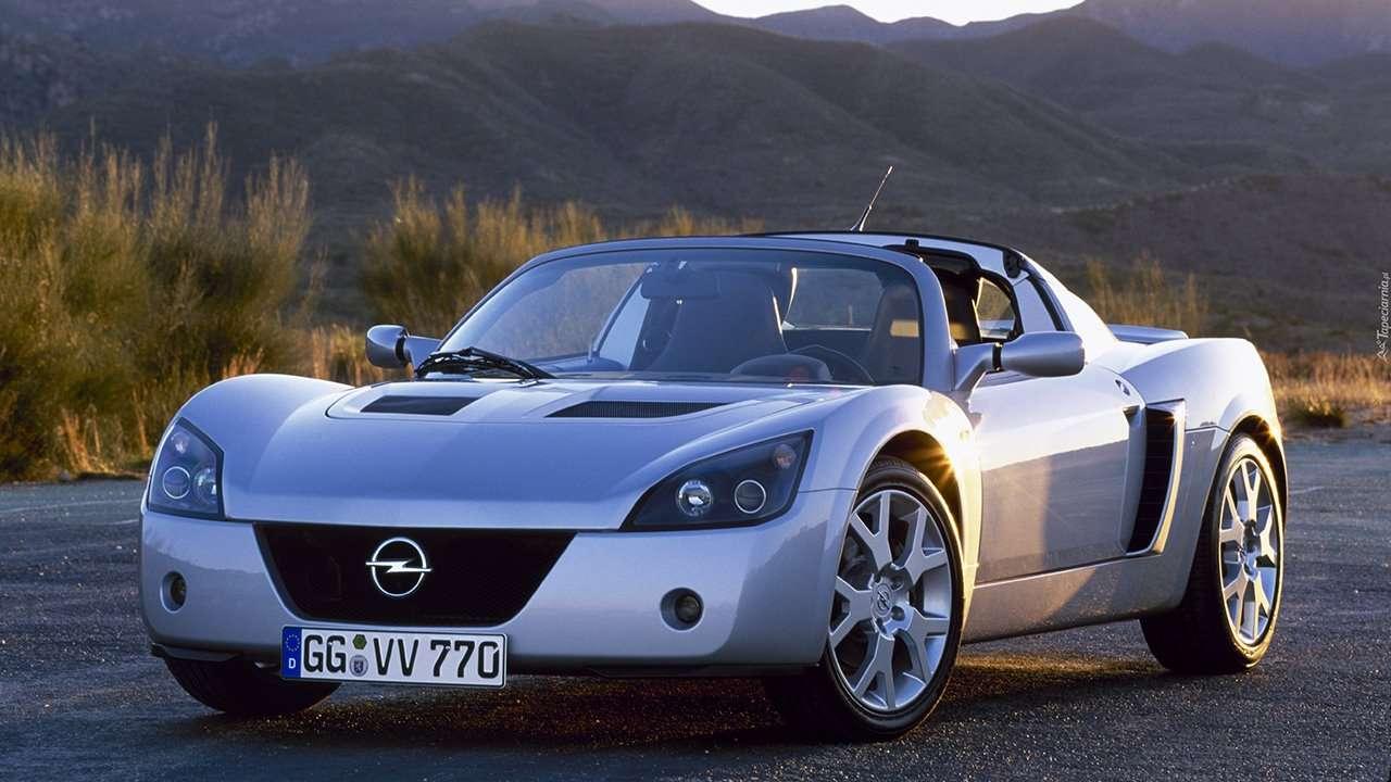 Opel Speedster фото спереди