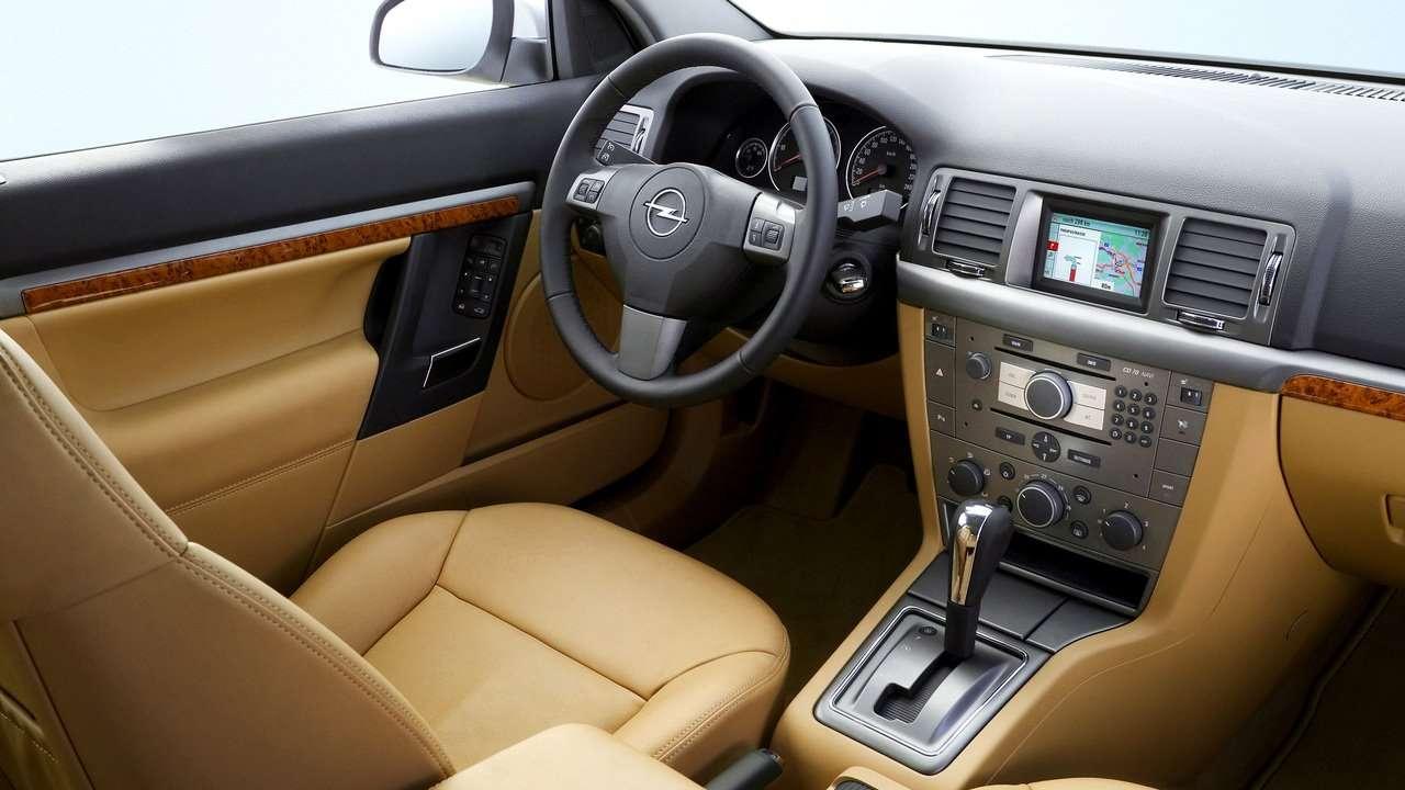 Opel Vectra C салон