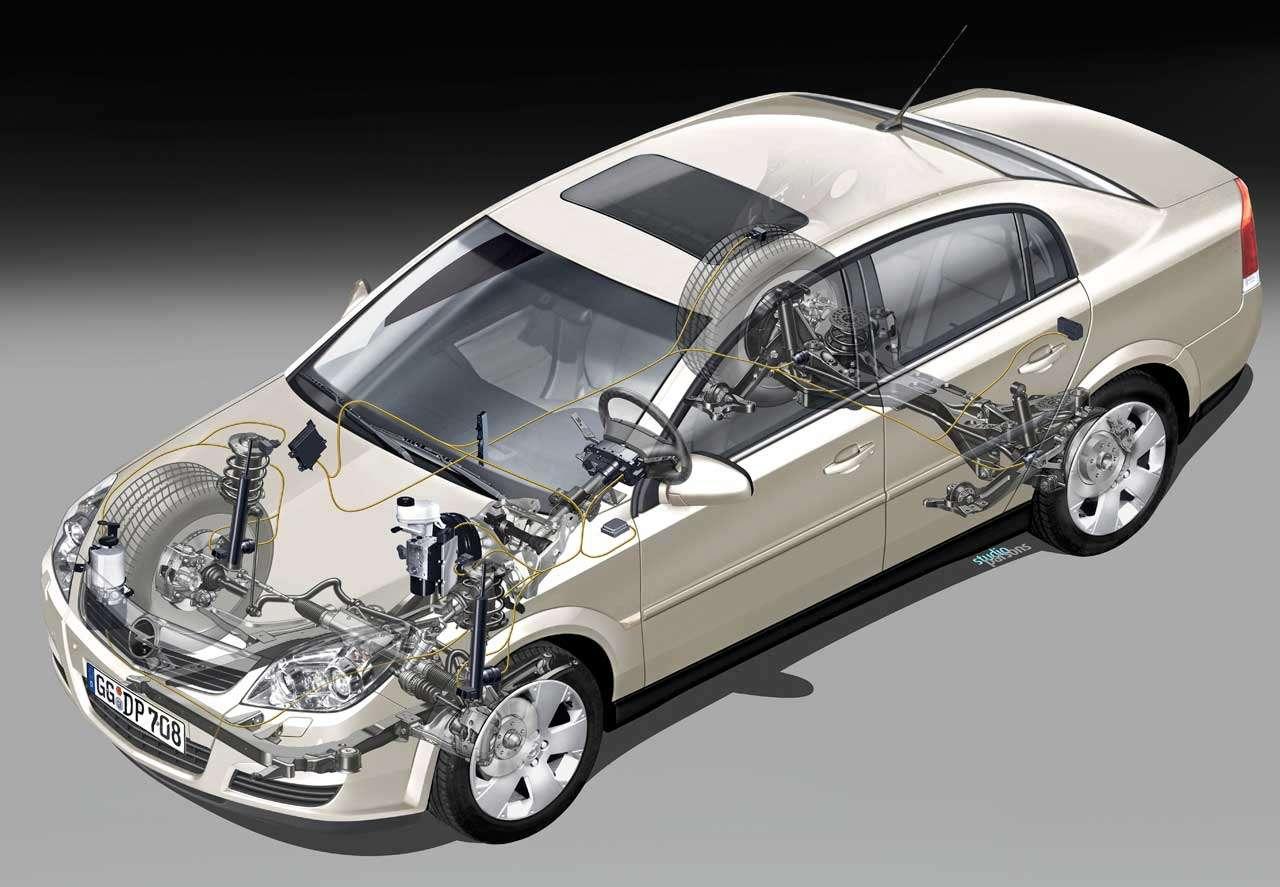 Подвеска Opel Vectra C