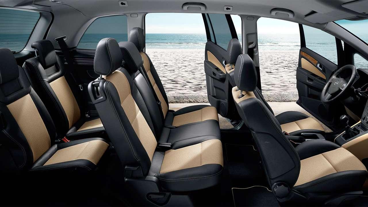 Все сиденья Opel Zafira Family