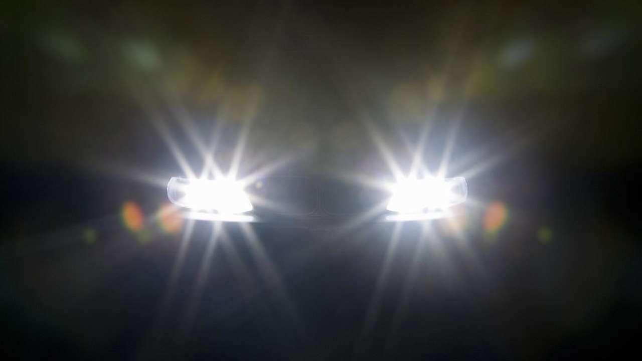 Дальний свет фар BMW e46