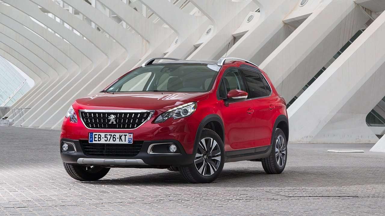 Peugeot 2008 2014-2019 фото спереди