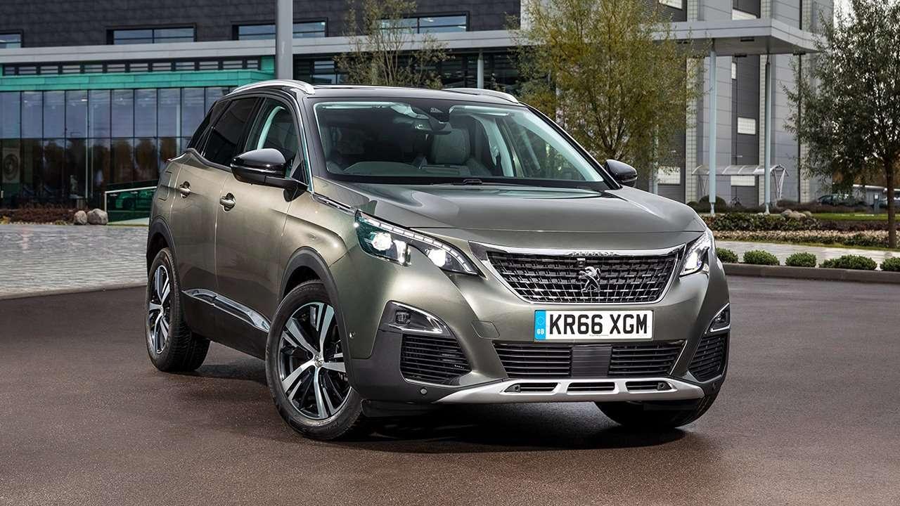 Peugeot 3008 2019-2020 фото спереди