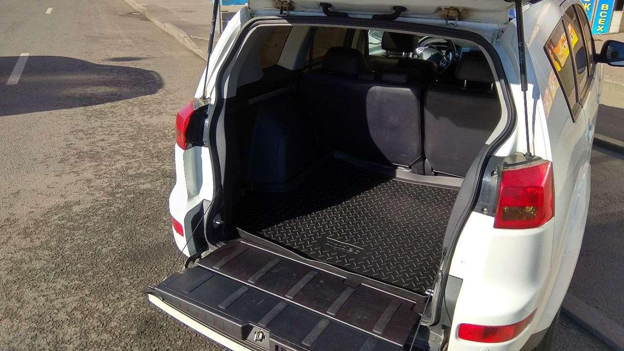 Багажник Пежо 4007