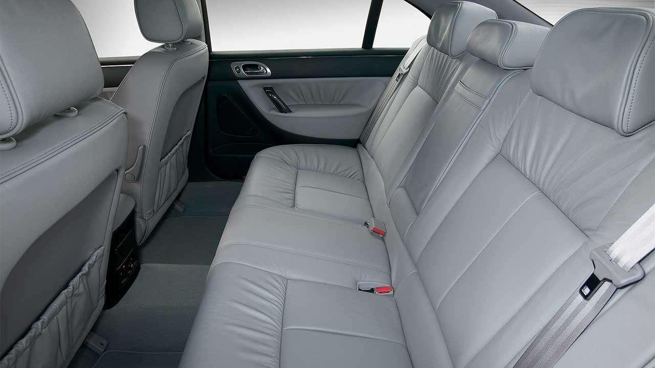 Задние сиденья Пежо 607 (2004-2010)