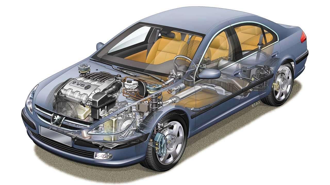 Техническая часть Peugeot 607