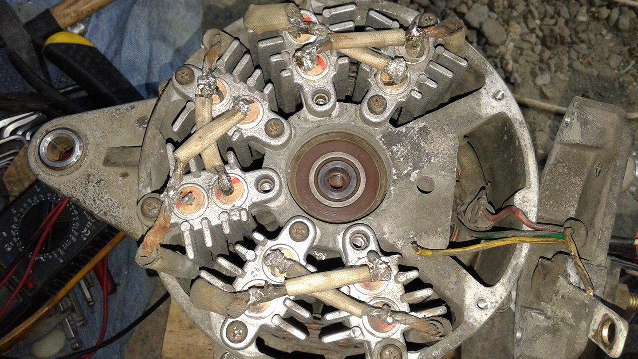 Ремонт цепи генератора