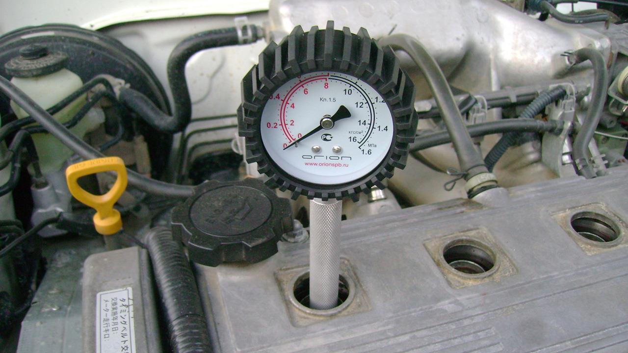 Замена компрессии двигателя