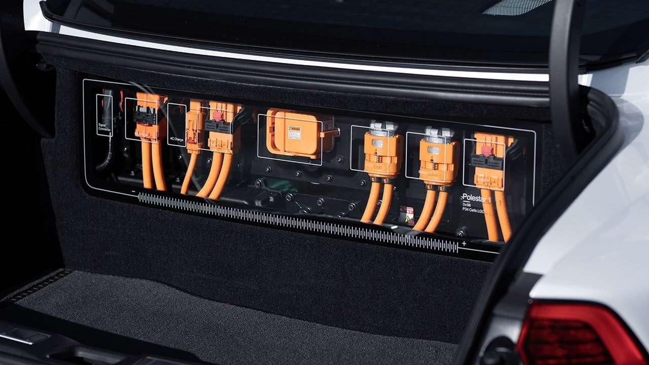 Провода в багажнике