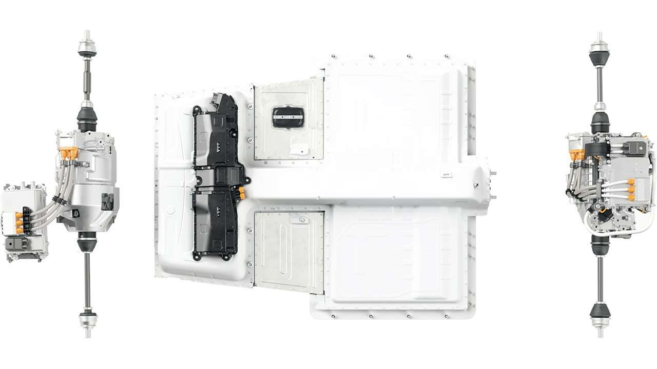 Электромоторы и аккумуляторы Полестара