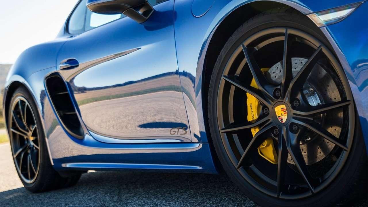 Диски Porsche 718 Cayman