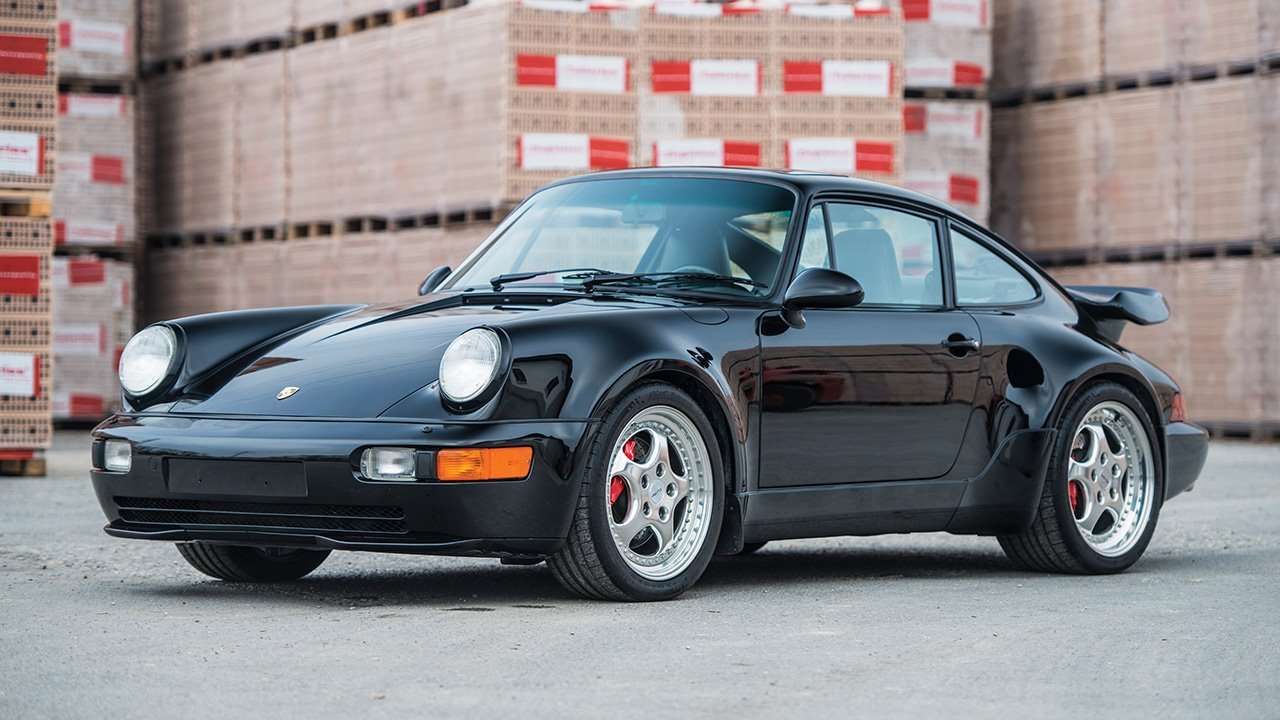 Porsche 911 (964) фото спереди