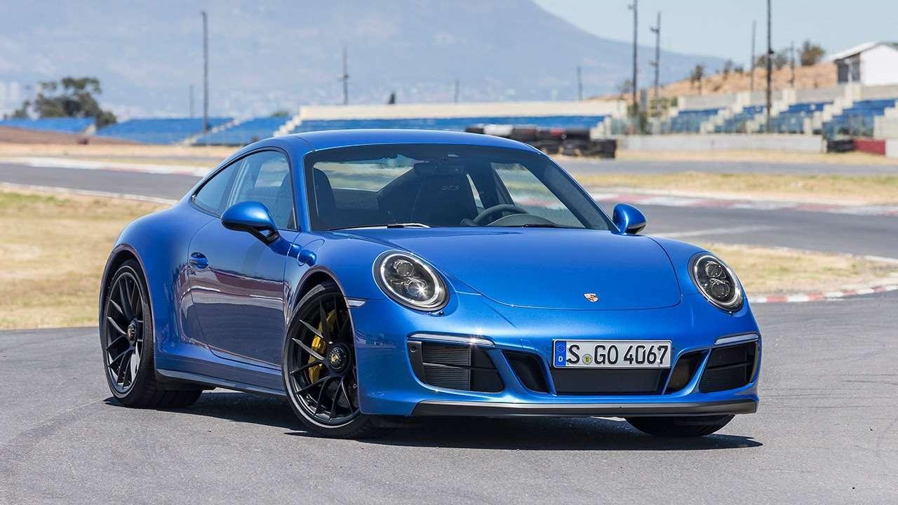 Porsche 911 (991) 2011-2018 фото спереди