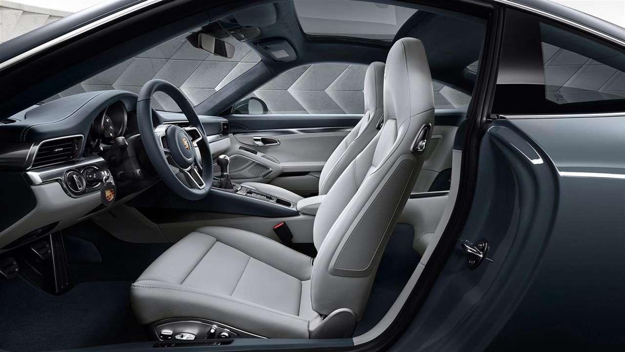 Porsche 911 (991) 2011-2018 сиденья