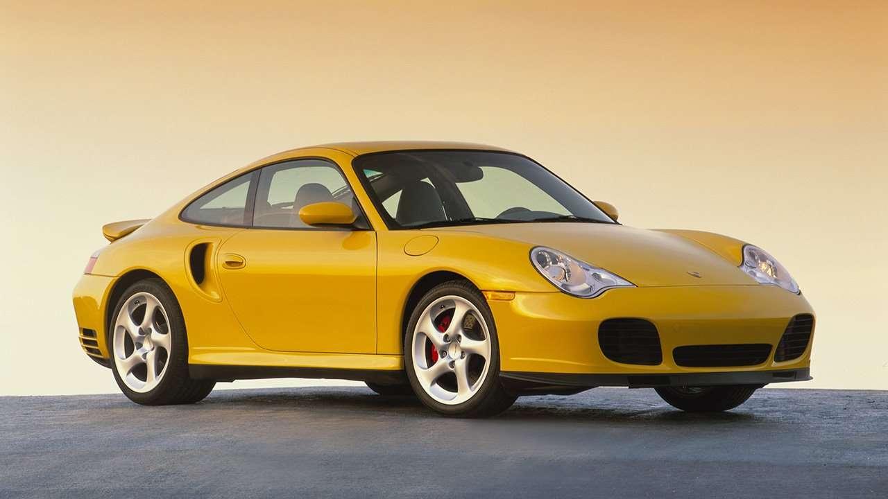 Рестайлинговый Порше 911 (996)