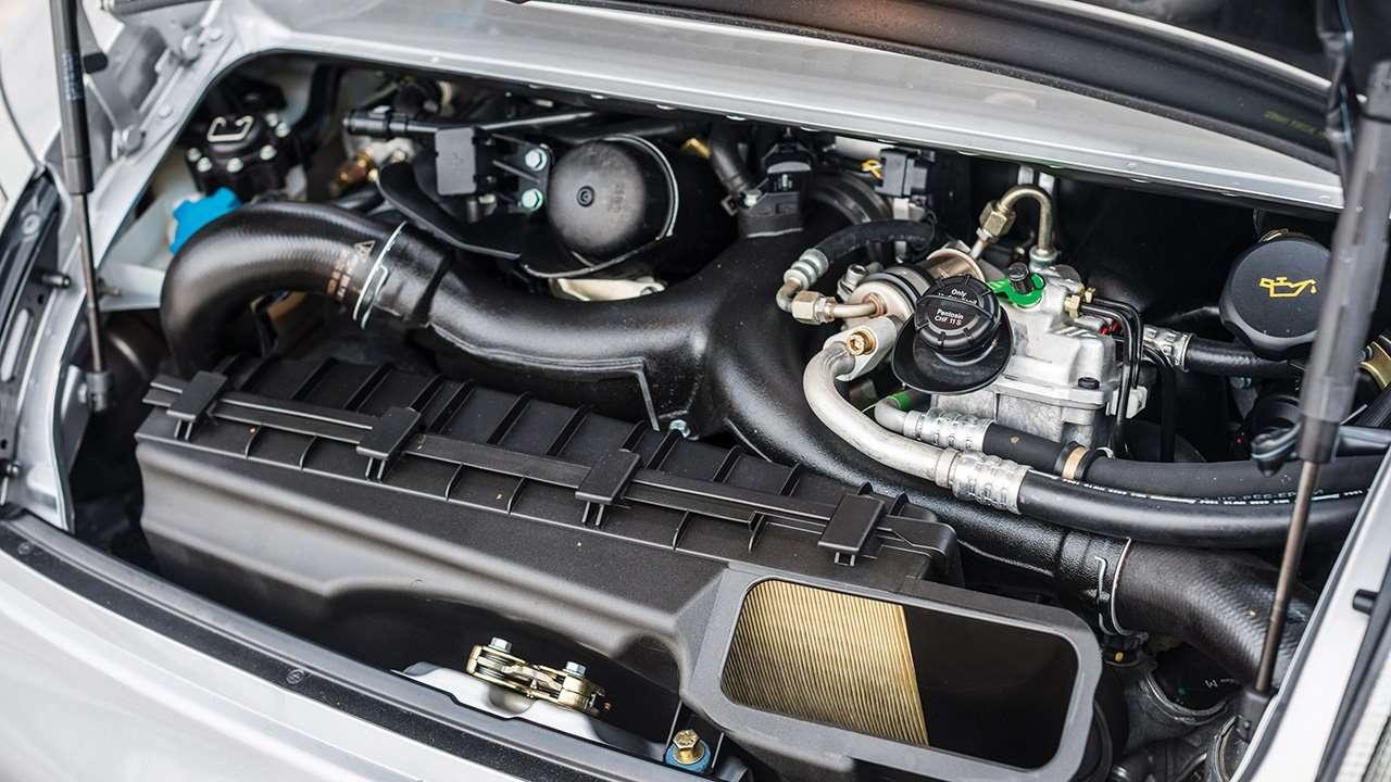 Фото двигателя Порше 911 996