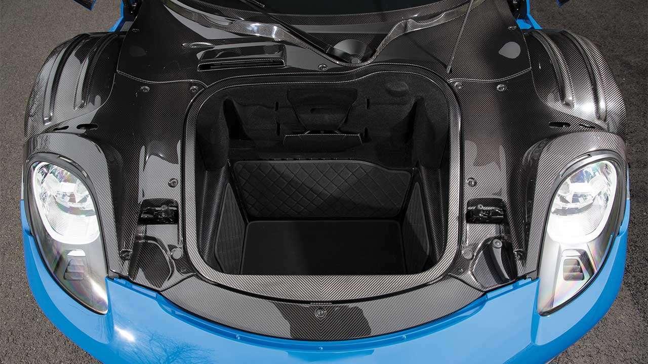 Багажник Порше 918 Спайдера