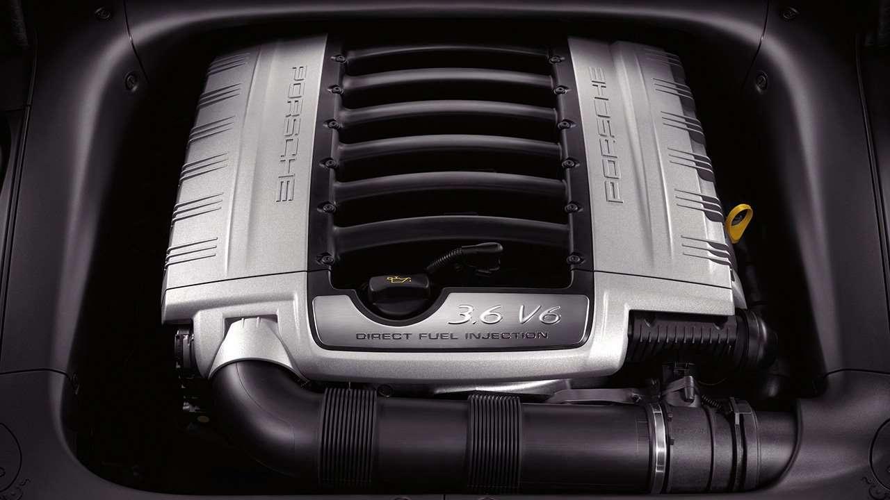 V6 мотор Cayenne 955/957