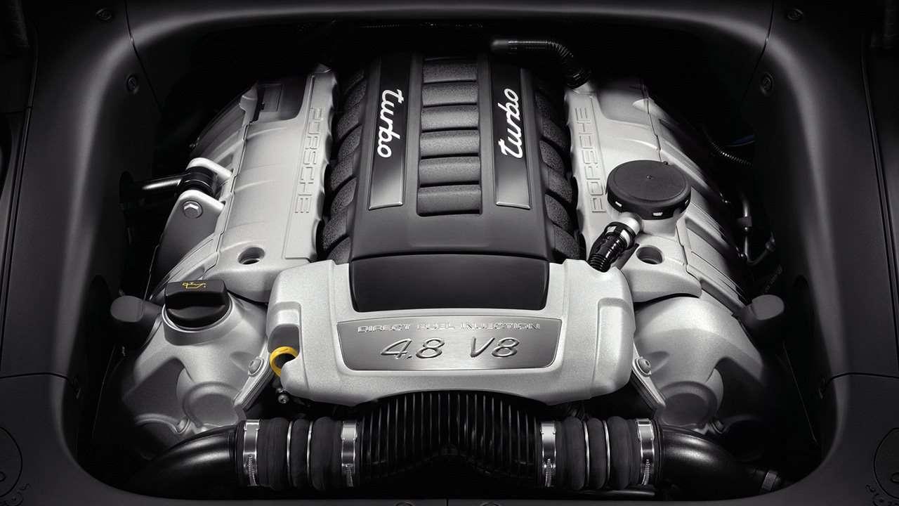 Двигатель V8 Кайена 955/957