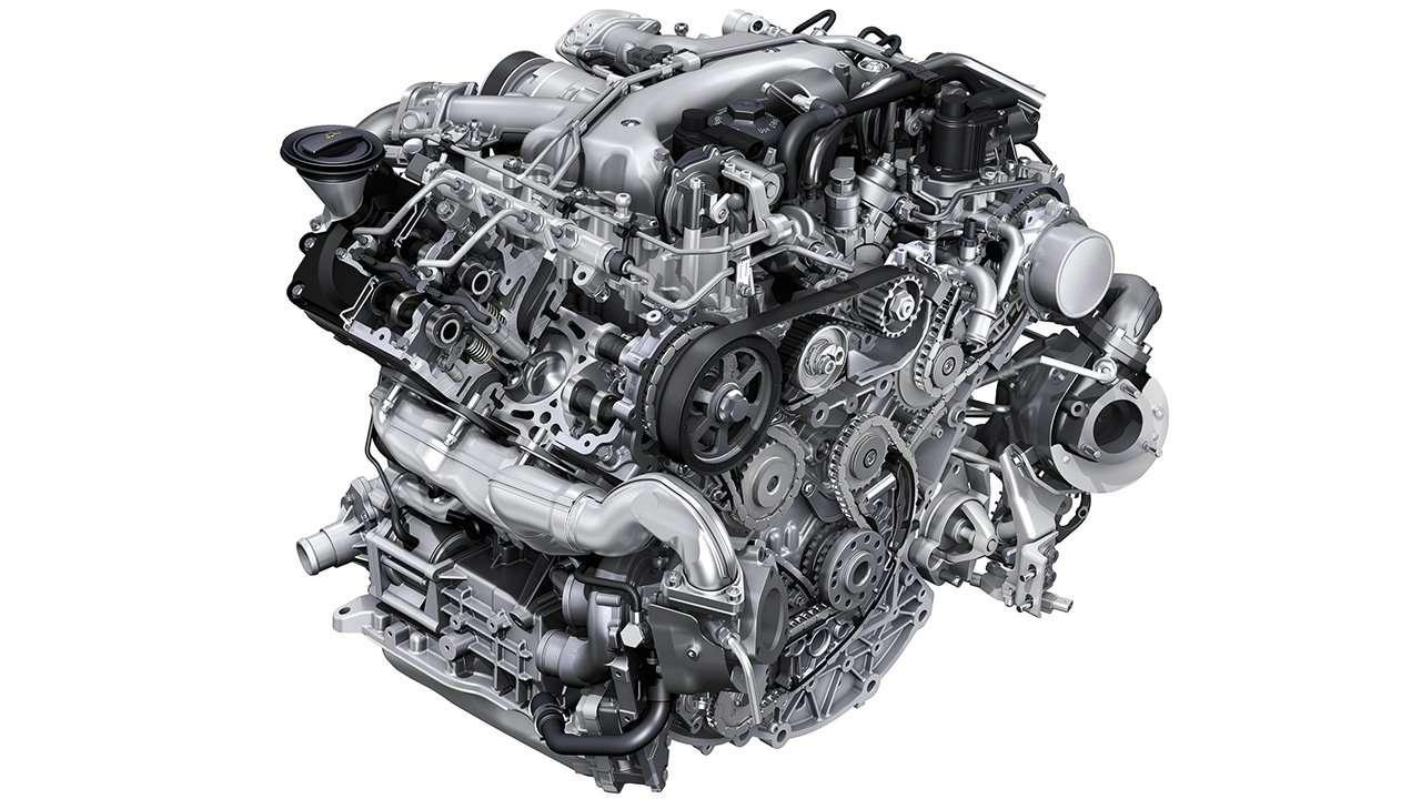 Дизельный мотор Cayenne 958