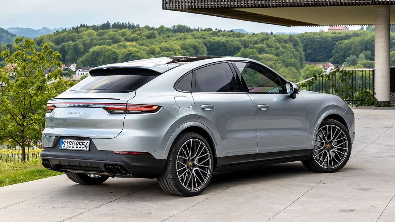 Porsche Cayenne 2020-2021 Coupe