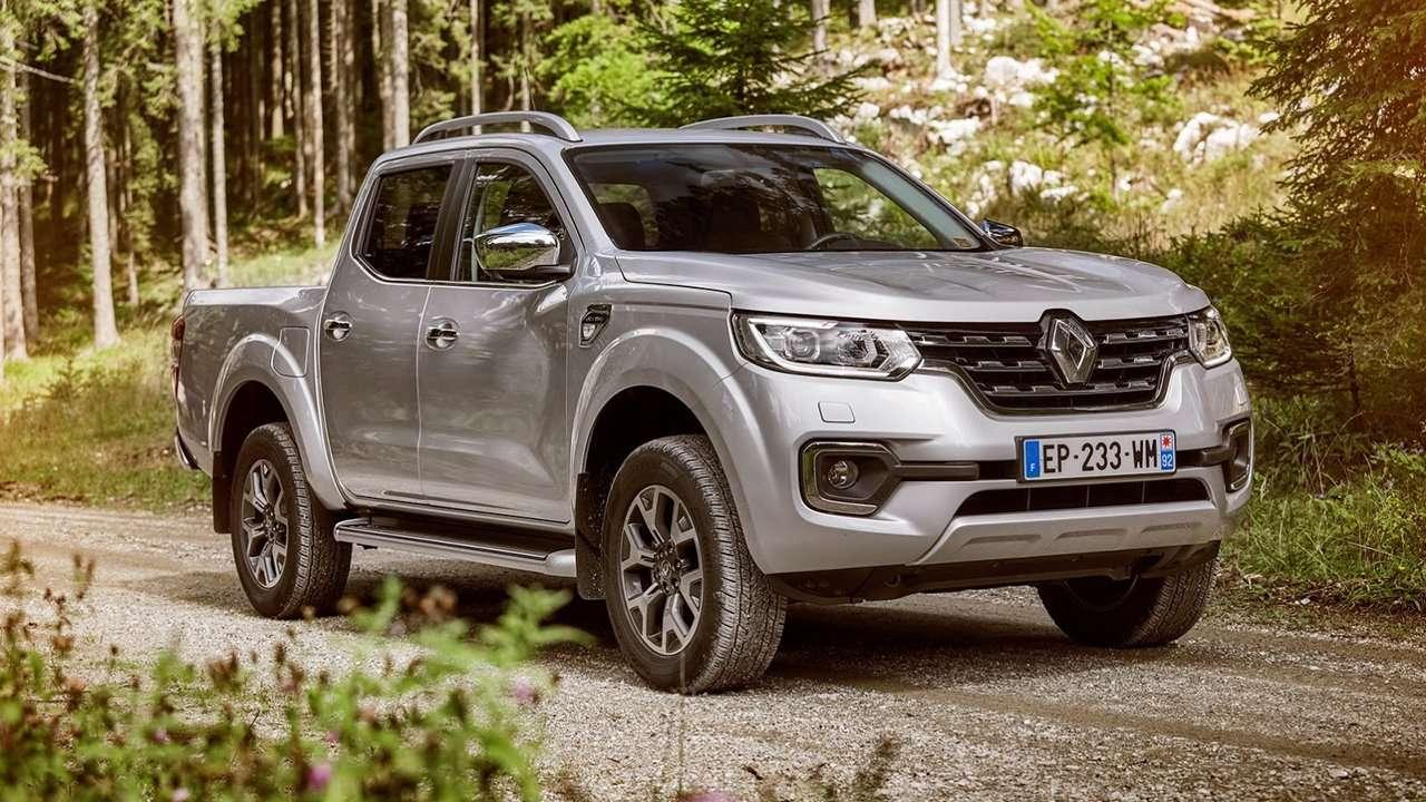 Renault Alaskan 2020-2021 фото спереди
