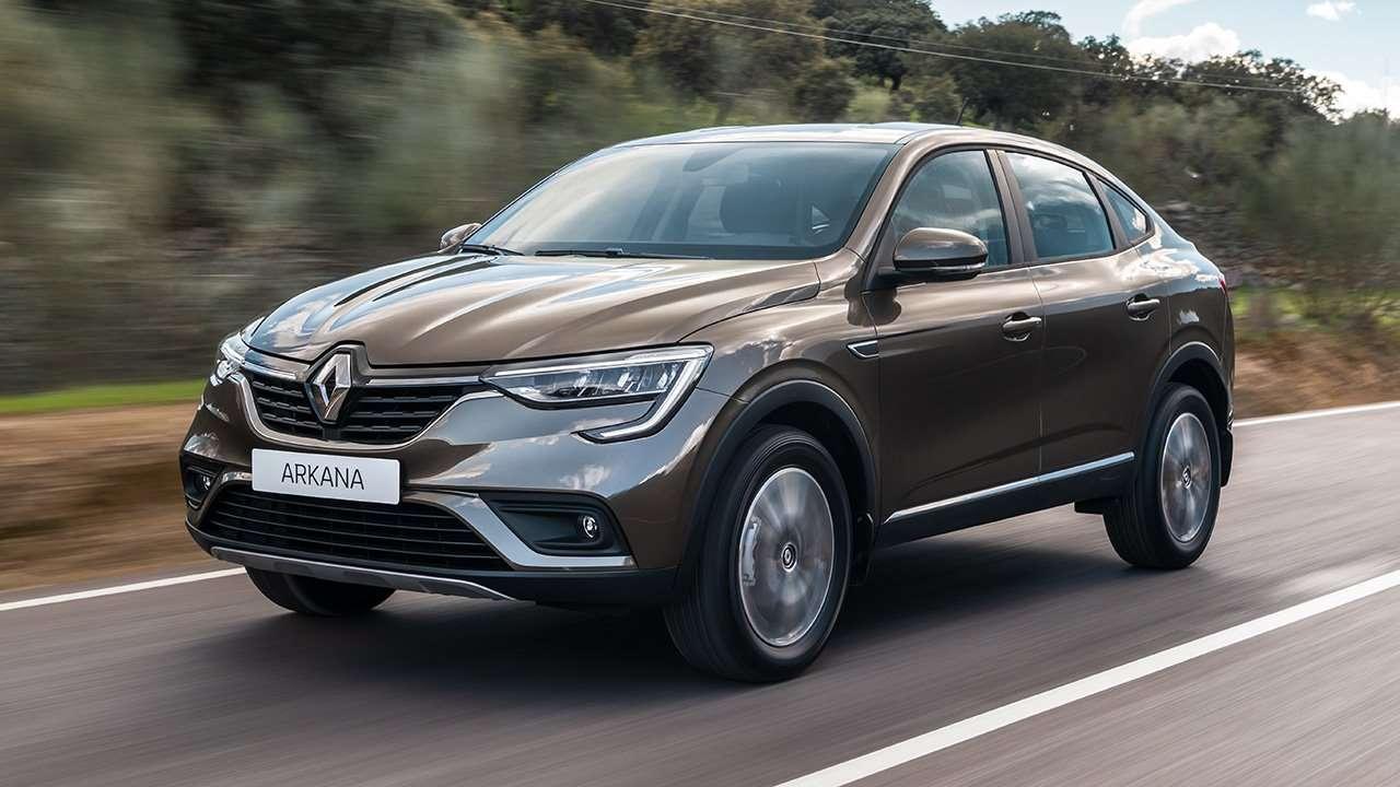Renault Arkana фото спереди