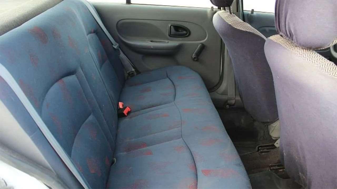 Задний ряд Clio 2