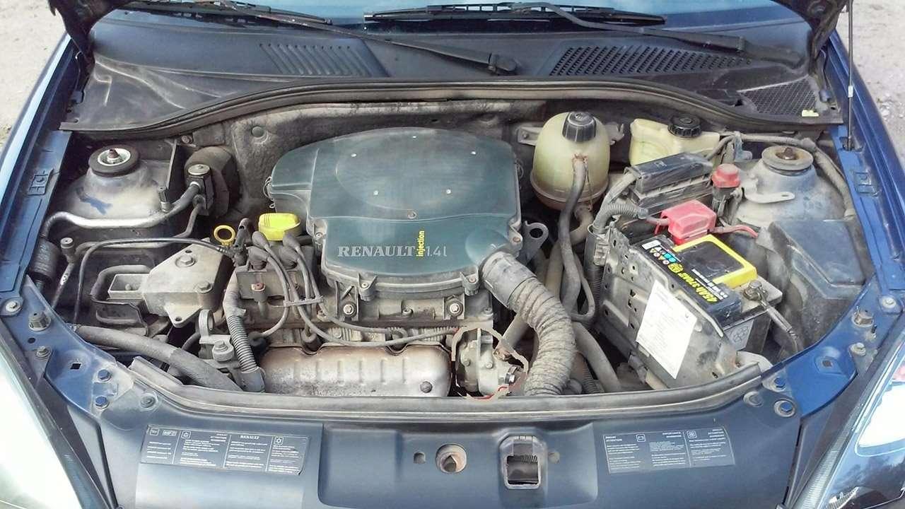 1,4-литровый мотор Клио 2