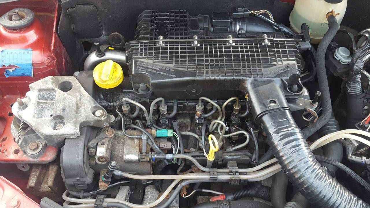 Дизельный мотор Clio 2