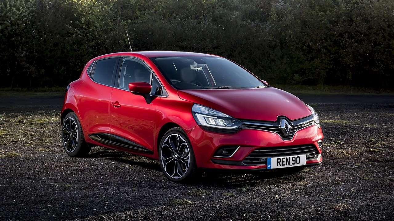 Фото красного Renault Clio 2012-2019