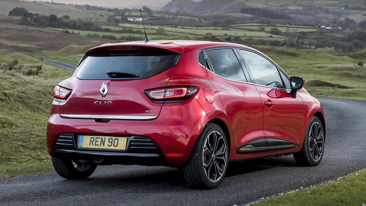 Задняя часть Renault Clio 2012-2019