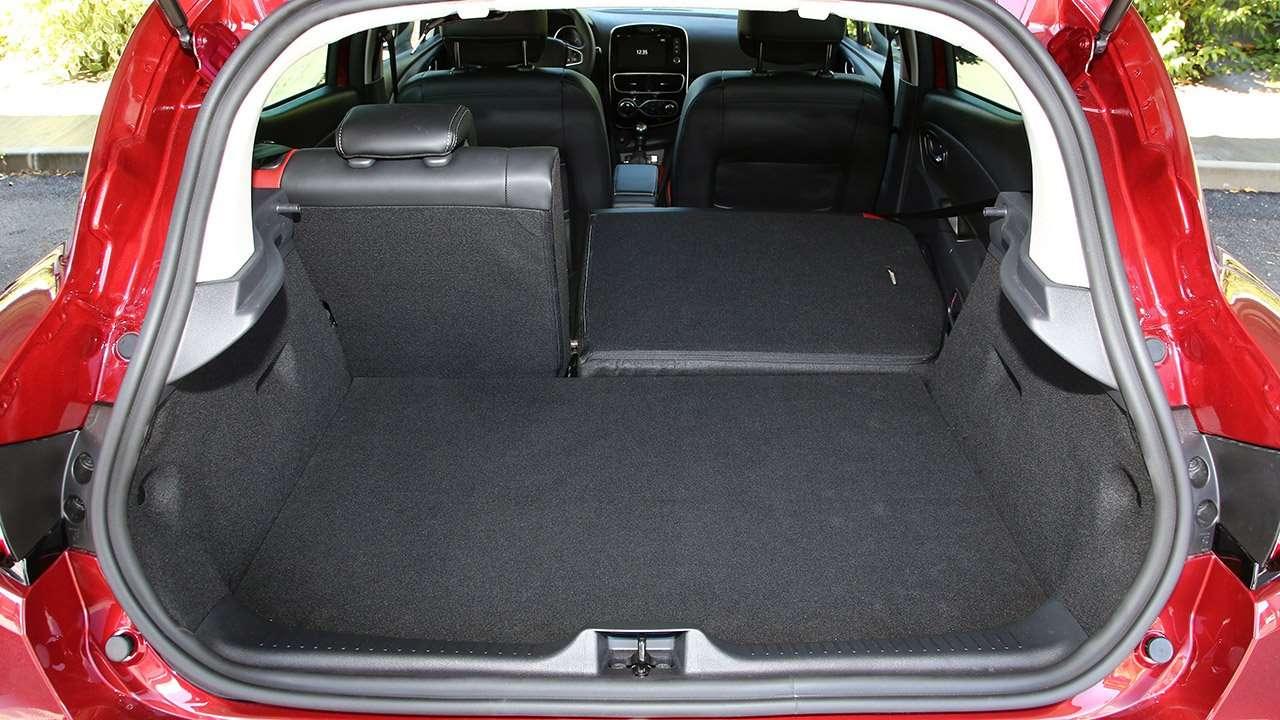 Багажник хэтчбека Clio 4