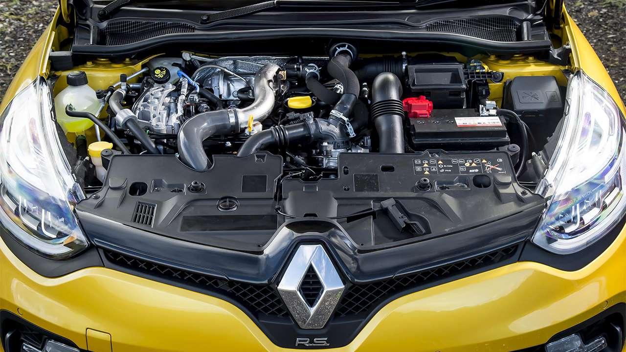 Фото двигателя Рено Клио РС